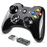 EasySMX Gaming Controller, 2.4G Wireless Gamepad, PS3 Controller, Dual Vibration, 8 Stunden Spielzeit für PS3/PC/Android Tablets, TV-Box