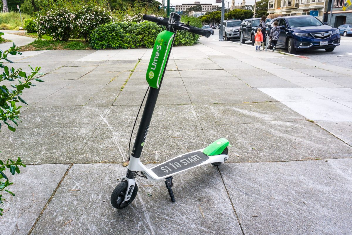 Lime S E-Scooter