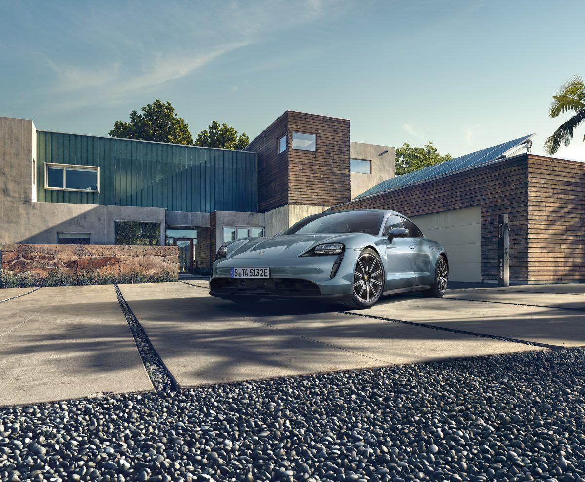 Porsche Taycan 4S im Alltag