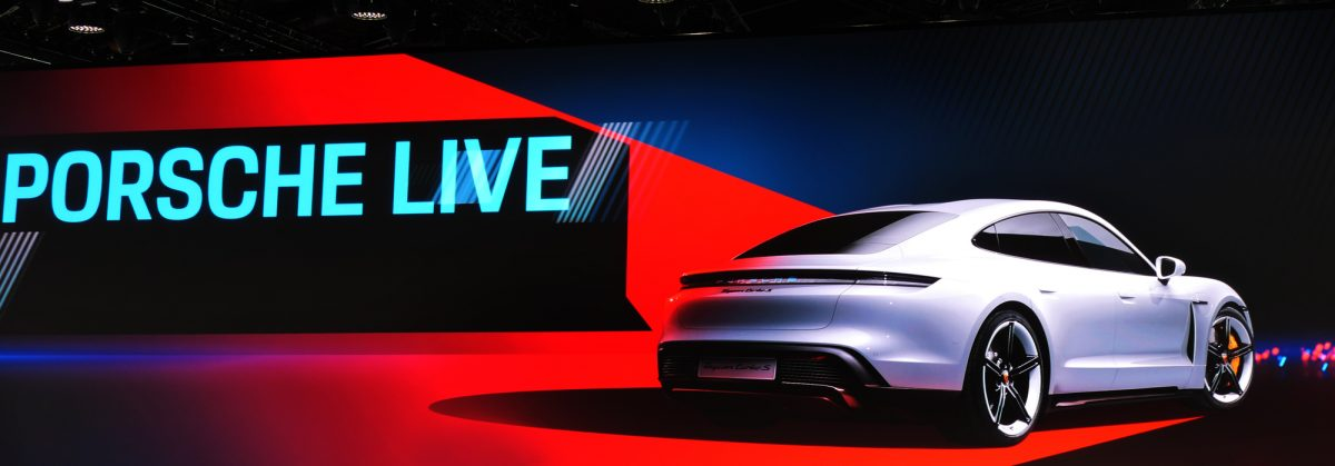 Porsche Taycan Turbo S - IAA Frankfurt Premiere