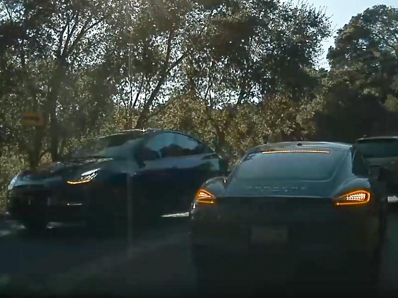 Tesla Model Y Prototyp Front