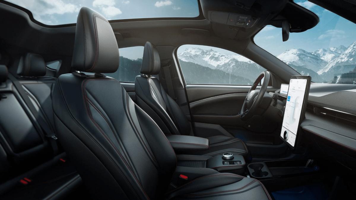 Ford Mustang Mach E Interieur