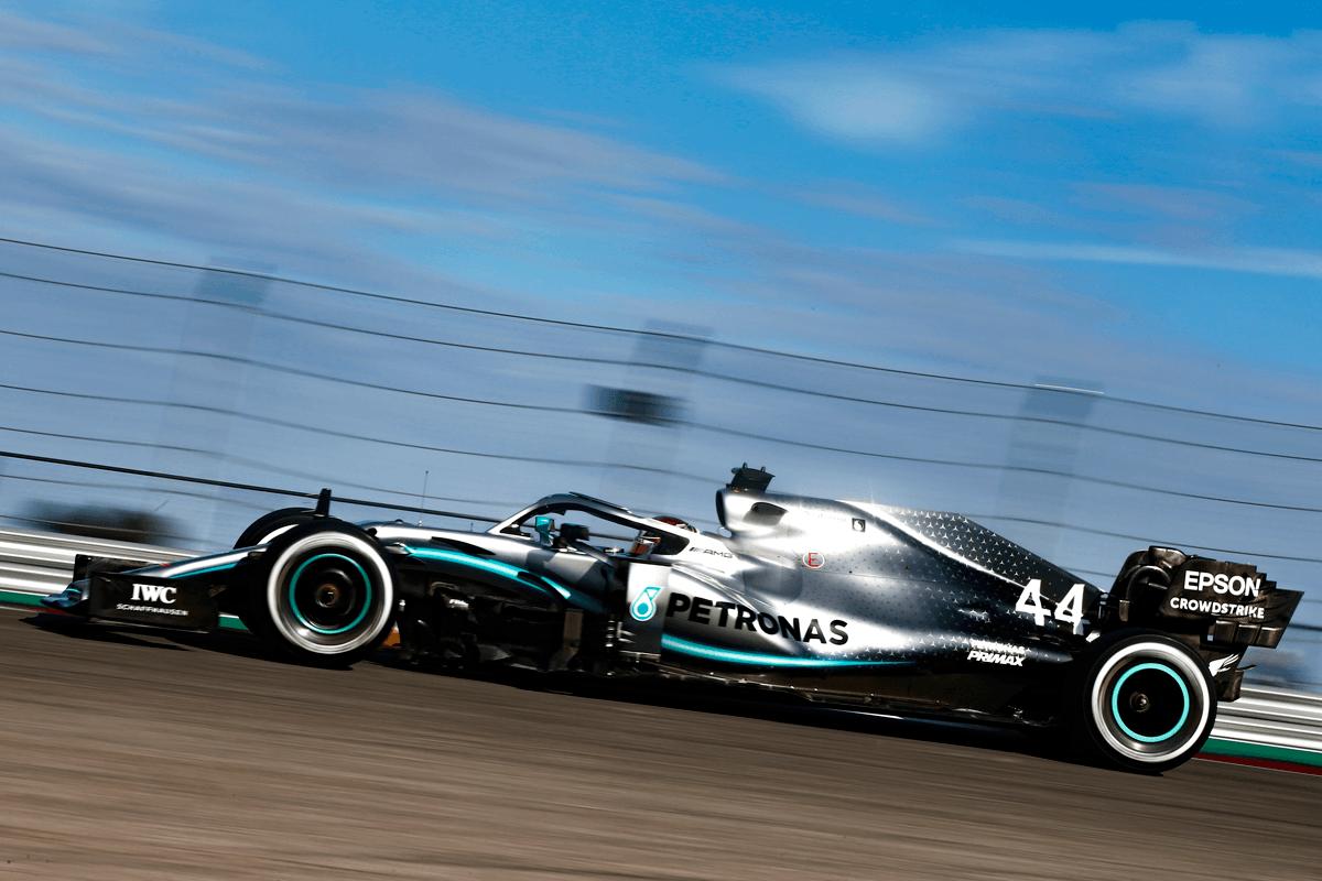 Formel 1 - Mercedes-AMG Petronas Motorsport, Großer Preis der USA 2019. Lewis Hamilton