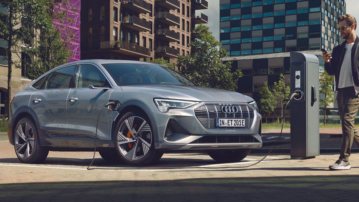 Audi e-tron Sportback Front Rechts