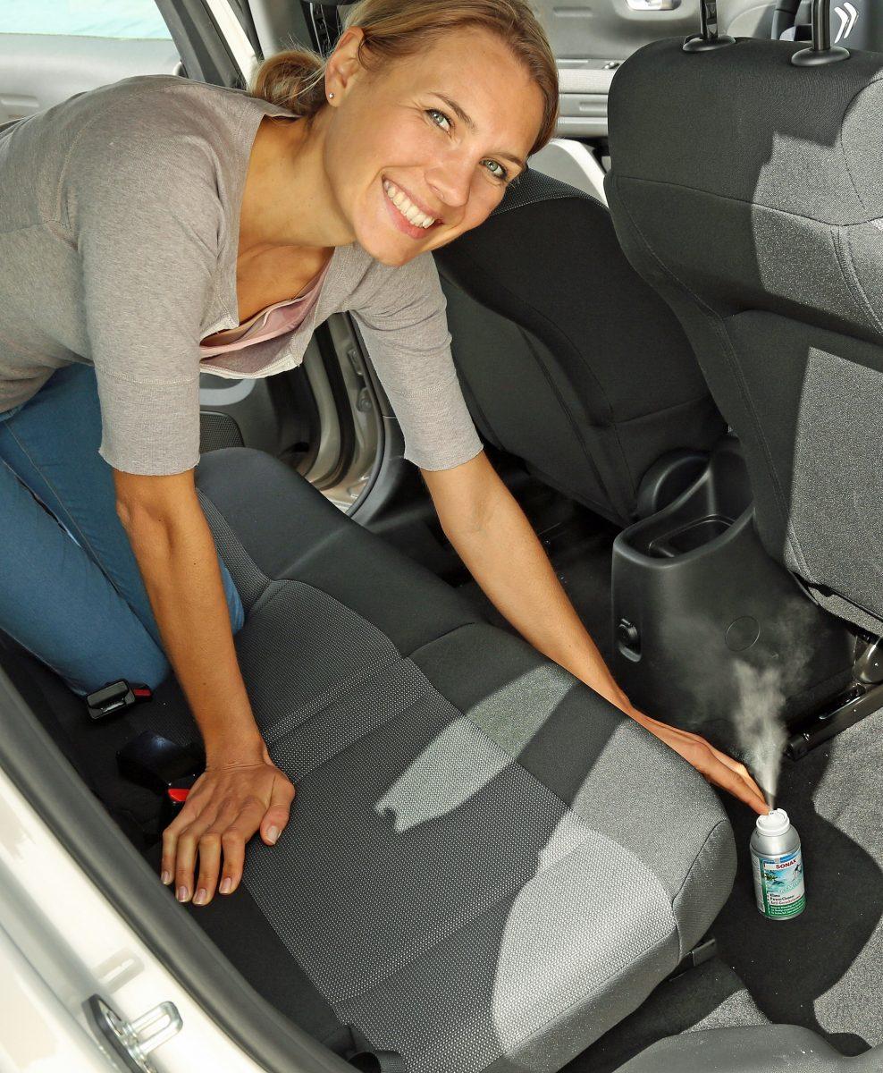 Luftreinigung im Fahrzeuginneren