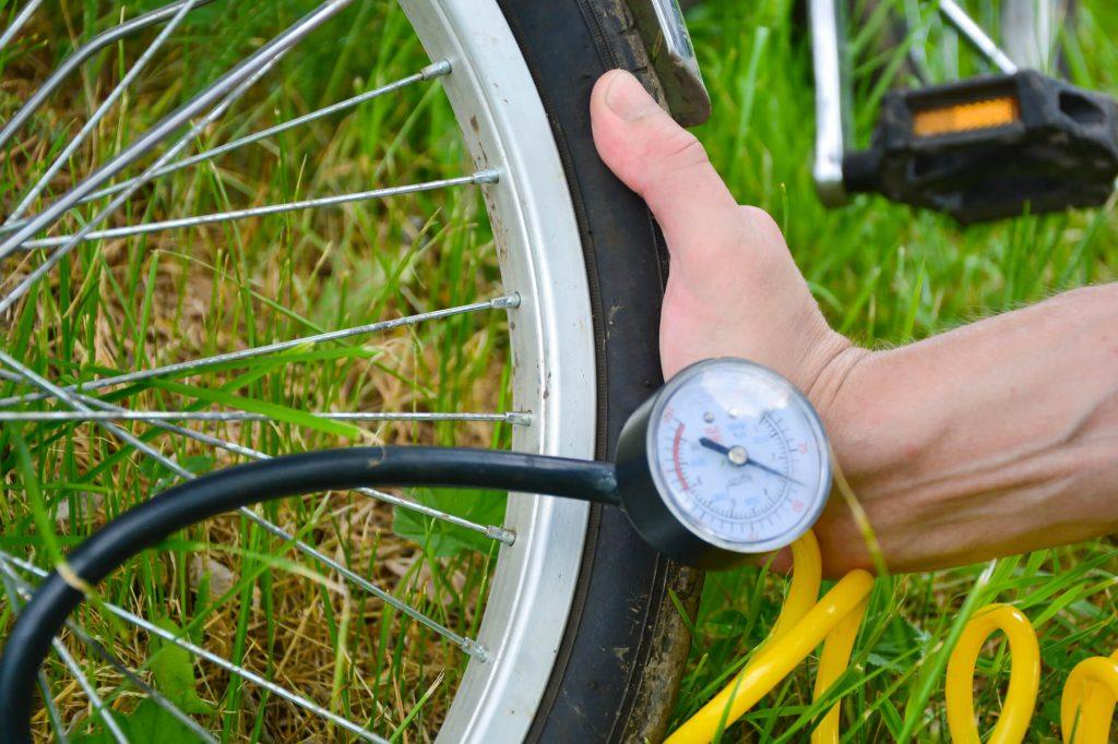 Fahrrad Kompressor für zu Hause
