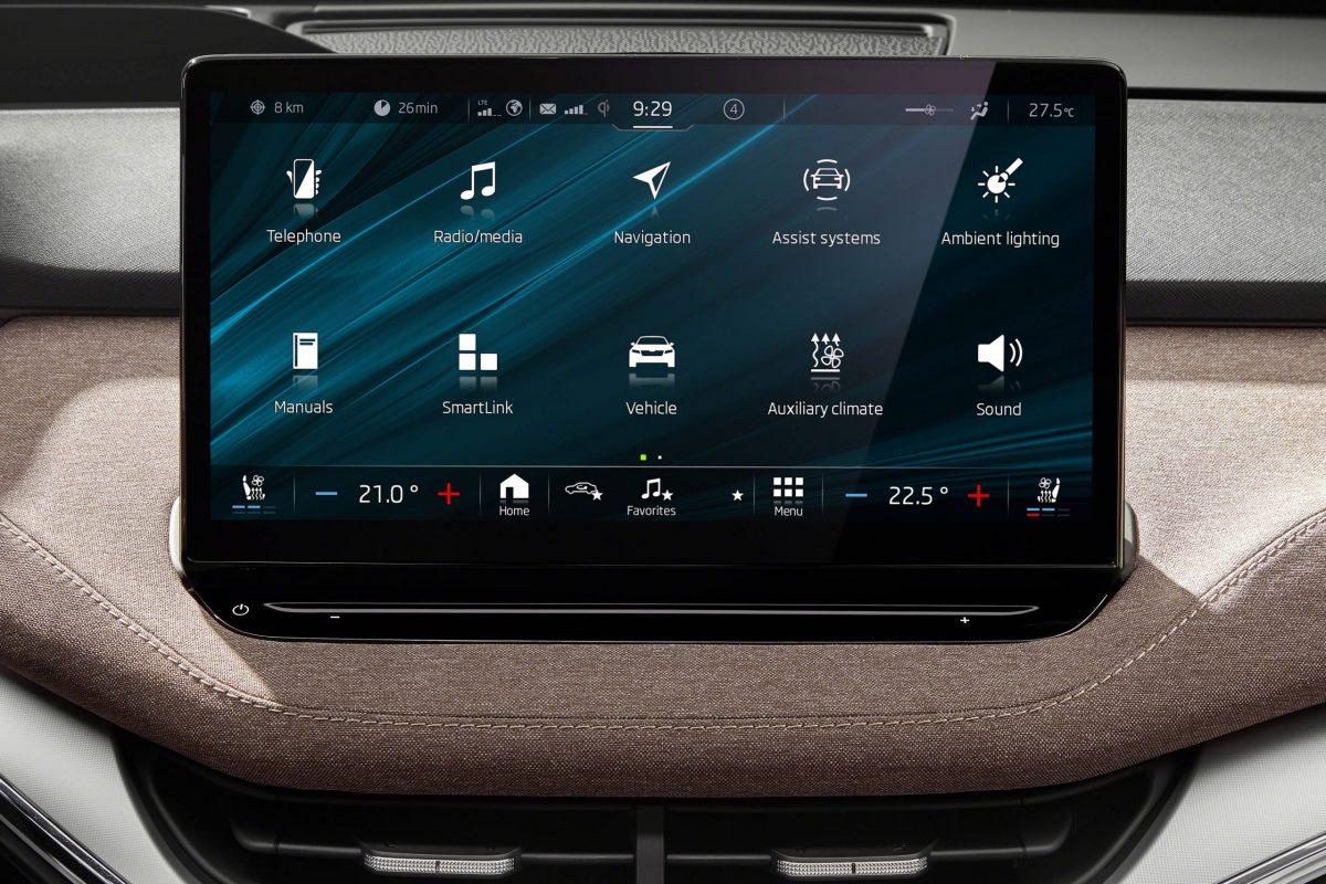 Skoda Enyaq iV - Touchscreen Display