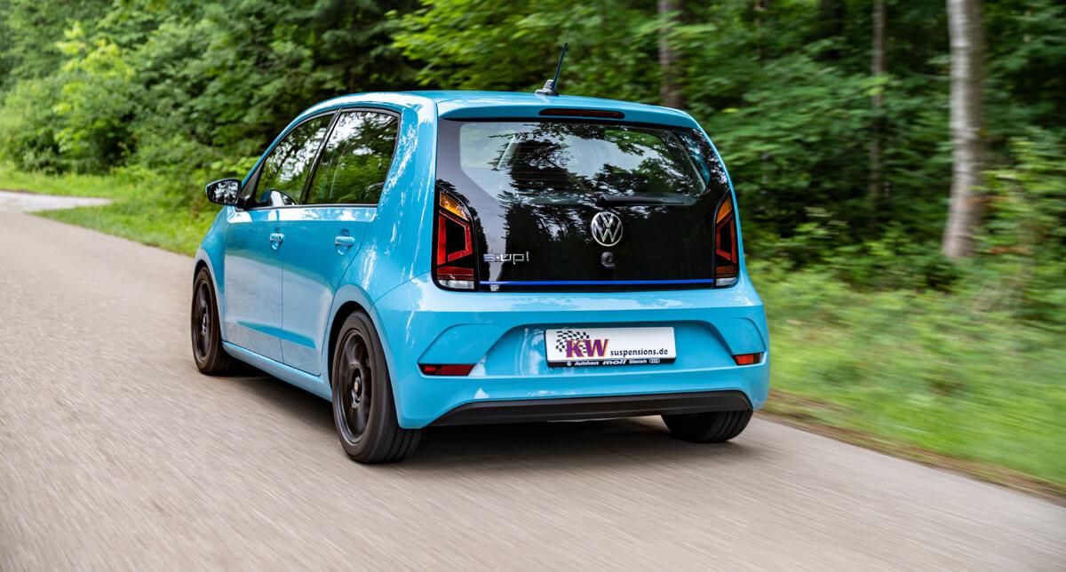 VW e-up Gewindefahrwerk von KW