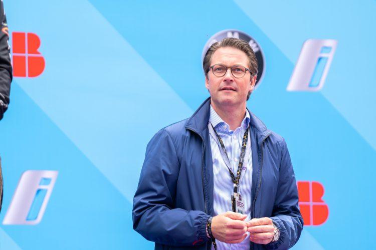 Andreas Scheuer, Bundesminister für Verkehr und digitale Infrastruktur